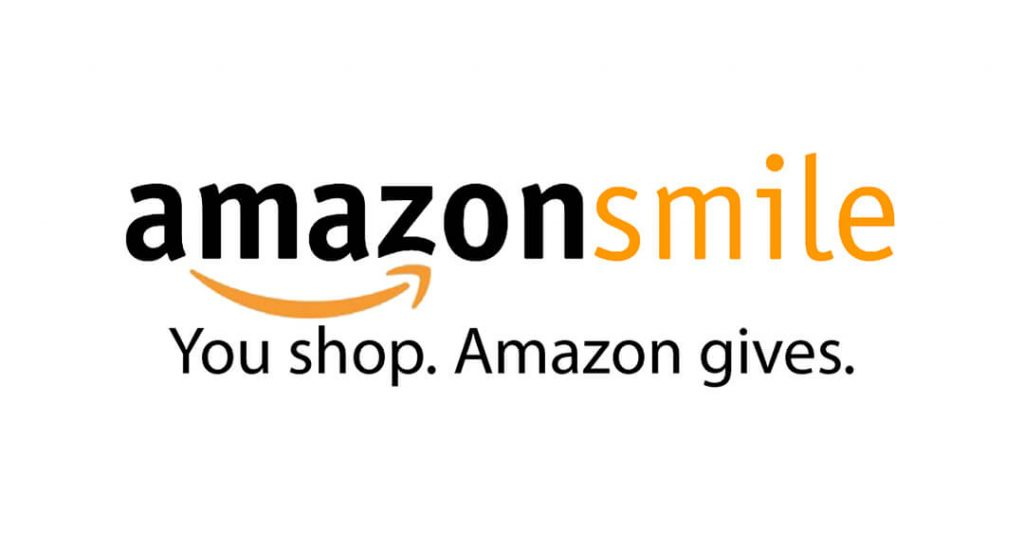 AmazonSmile logo. You shop. Amazon gives.