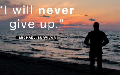 I will never give up